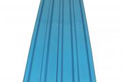 Bingwa Box Profile Glossy Finish Sky Blue
