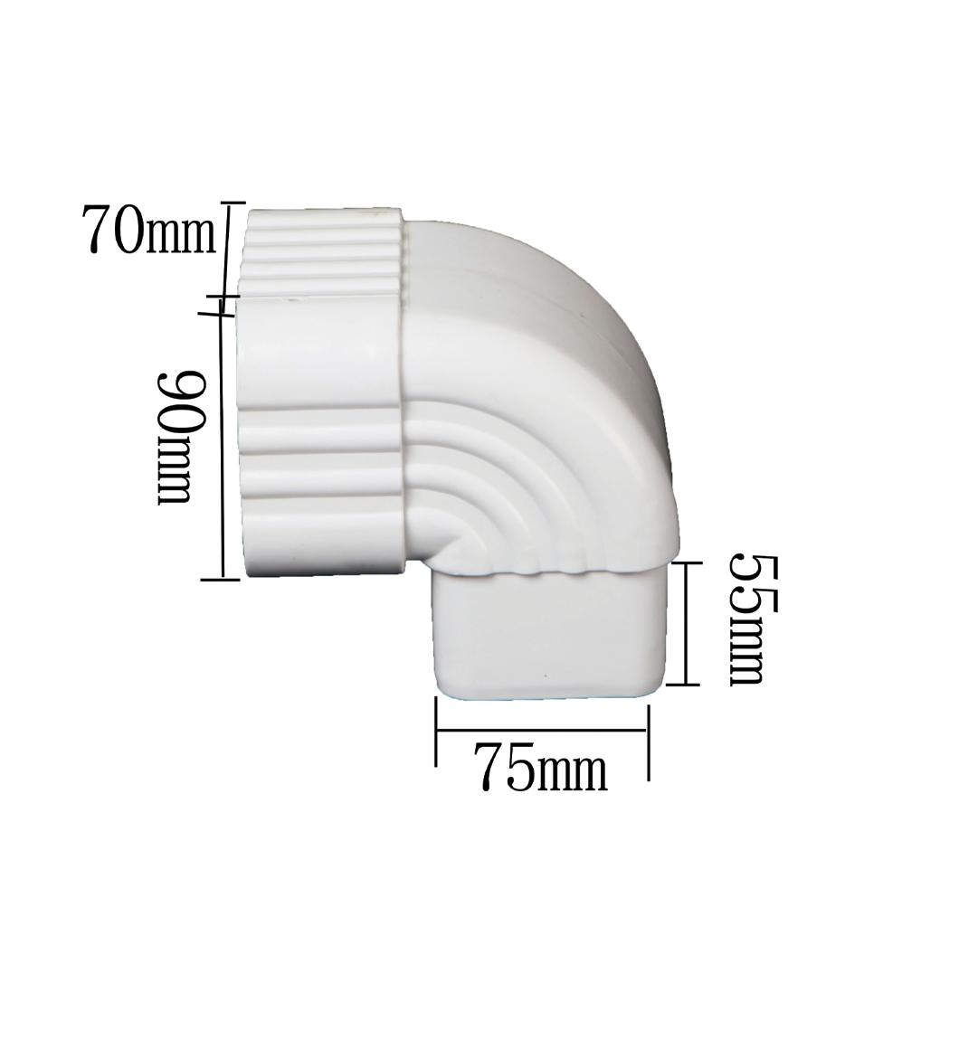 PVC 90 Degrees Side Elbow