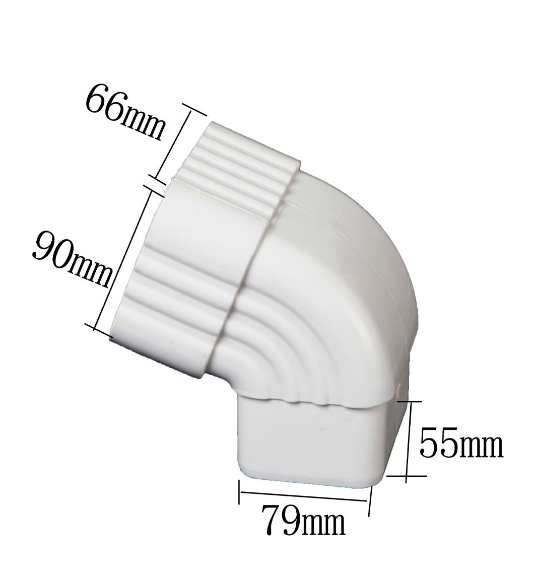 PVC 65 Degrees Side Elbow