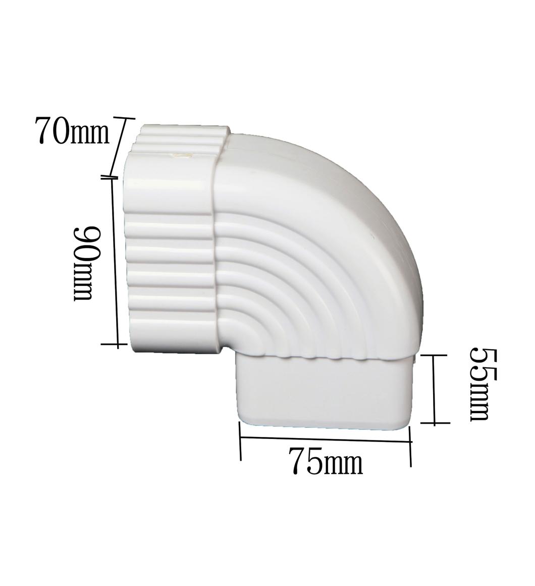 PVC 90 degree Square Diverter